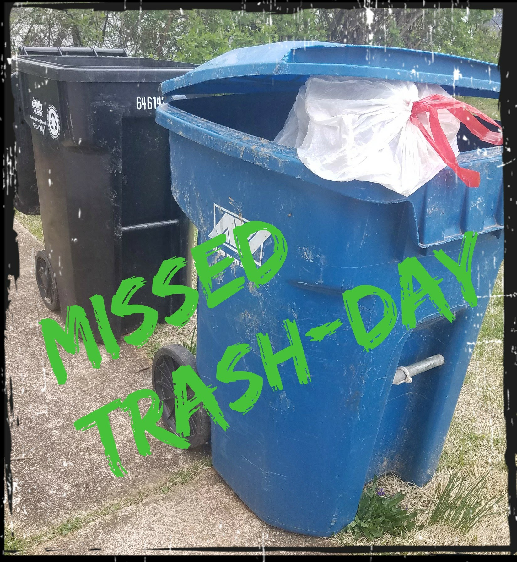 Missed Trash Day