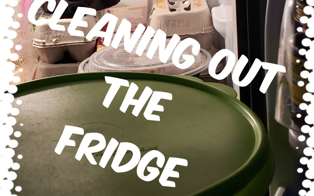 Cleaning out the Fridge