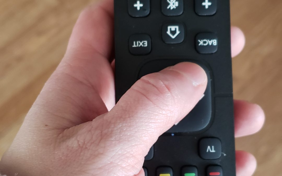 Upside-down Remote