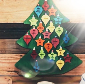 Names of Jesus Christmas Tree