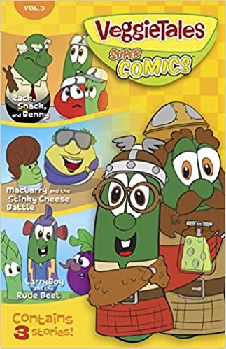 Veggie Tales Comic Book Reviews